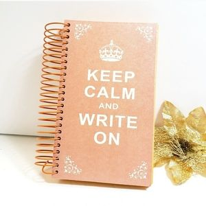 Other - New, Keep Calm and Write on Note Book